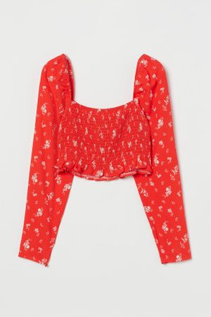H&M Cropped Bluse