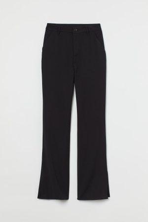 H&M Damen Hosen & Jeans - Ausgestellte Hose mit Schlitz