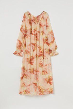 H&M Damen Kleider - Knöchellanges Kleid in A-Linie