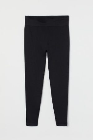 H&M Damen Leggings - + Sporttights Seamless