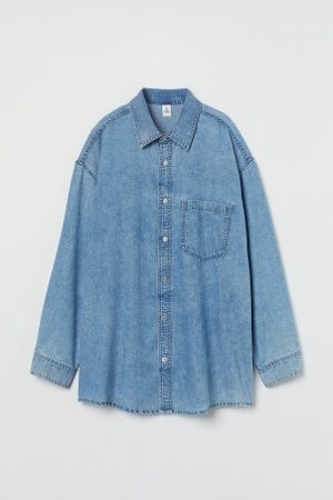 H&M + Oversized Jeansbluse