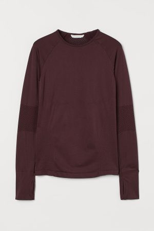 H&M Damen Shirts - MAMA Sportshirt Seamless