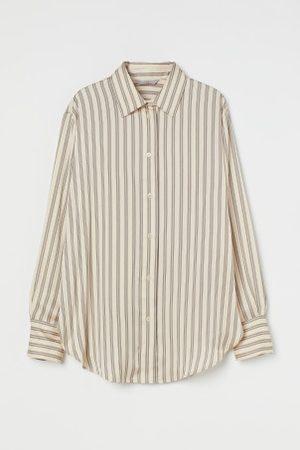 H&M Damen Blusen - Glänzende Bluse