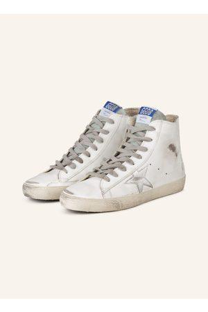 Golden Goose Damen Sneakers - Hightop-Sneaker Francy weiss