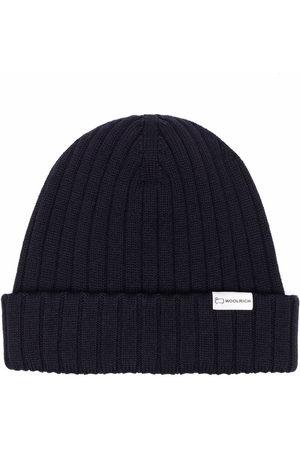 Woolrich Herren Hüte - Ribbed-knit virgin wool beanie