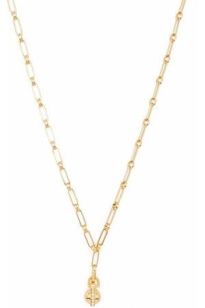 Missoma Aegis chain pavé sphere pendant necklace