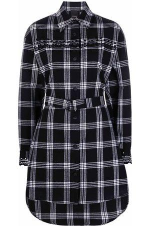 Pinko Check-print shirt dress