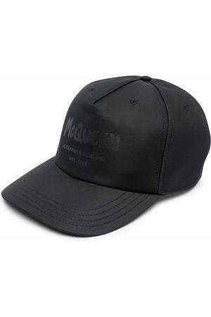 Alexander McQueen Herren Caps - Graffiti-print baseball cap