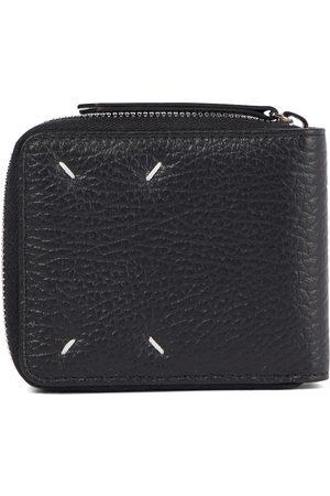 Maison Margiela Damen Geldbörsen & Etuis - Portemonnaie Four Stitches aus Leder