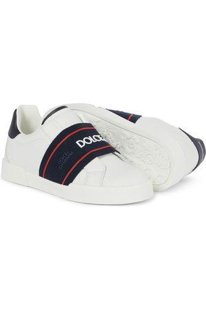 Dolce & Gabbana Jungen Sneakers - Sneakers aus Leder