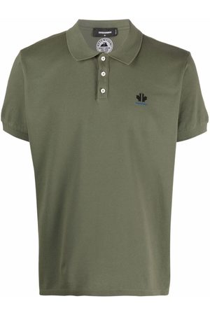 Dsquared2 Logo-embroidered polo shirt