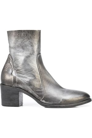 Madison.Maison Metallic-effect ankle boots