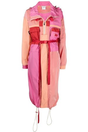 Stella McCartney Maia colour-block parka coat