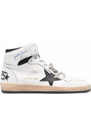Golden Goose Sky-Star high-top lace-up sneakers