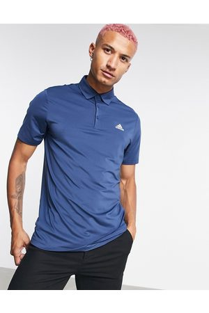 adidas Ultimate 365 chest logo polo in navy
