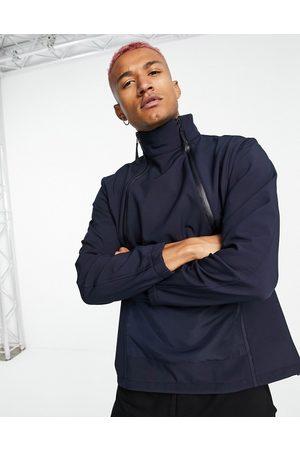 Bolongaro Trevor Sport Banning popover jacket with fleece back-Navy
