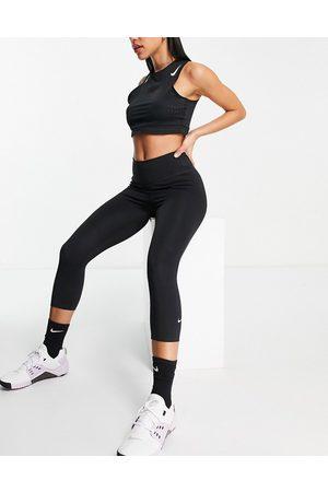Nike Damen Leggings & Treggings - One Sculpt capri crop leggings 2.0 in black