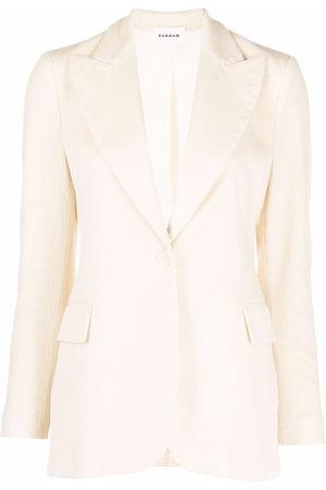 P.a.r.o.s.h. Corduroy single-breasted blazer