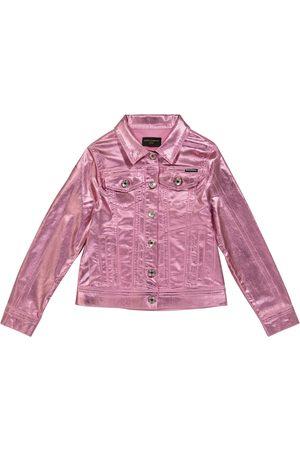 Dolce & Gabbana Beschichtete Jeansjacke