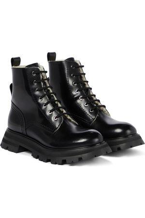 Alexander McQueen Ankle Boots Wander aus Leder