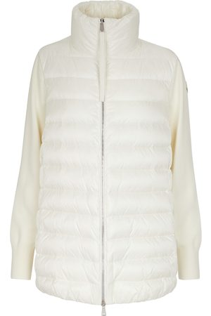 Moncler Jacke aus Wolle und Shell