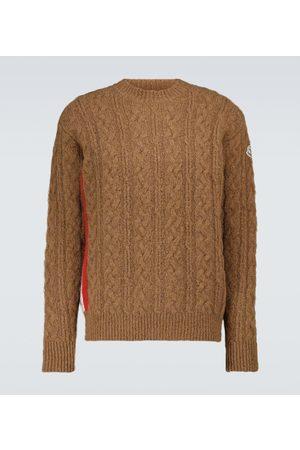 Moncler Pullover aus Alpaka und Wollgemisch
