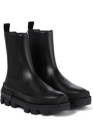 Moncler Chelsea Boots Coralyne aus Leder