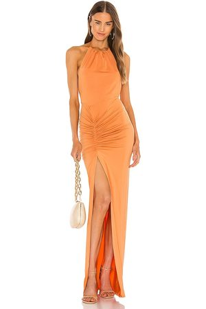 Michael Costello X REVOLVE Addison Maxi Dress in - . Size L (also in XXS, XS, S, M, XL).