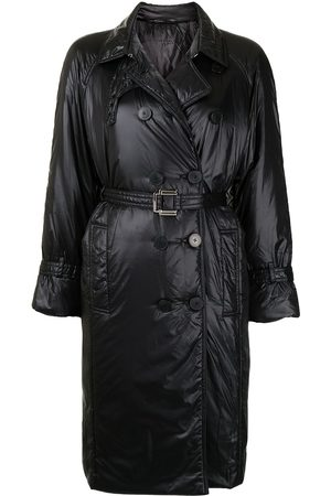 PORTS 1961 Double-breasted belted trench coat