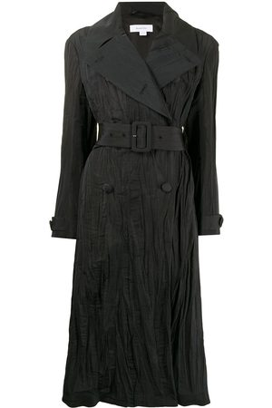 Beaufille Damen Trenchcoats - Crinkled double-breasted trench coat