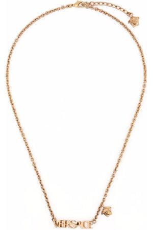 VERSACE Halsketten - Logo-plaque necklace