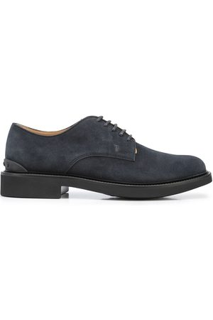 Tod's Herren Schnürschuhe - Suede lace-up shoes