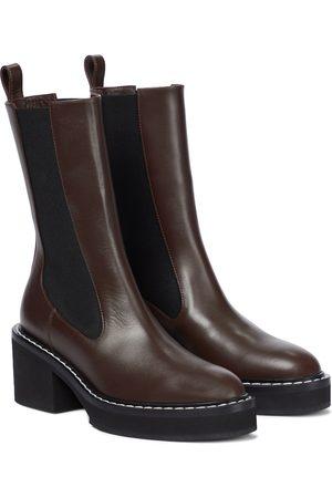 Khaite Chelsea Boots Calgary aus Leder