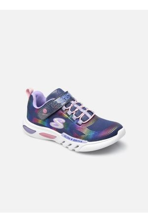 Skechers Damen Sneakers - GLOW-BRITES - Lighted Bungee & Strap by