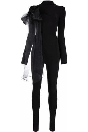 Atu Body Couture Damen Jumpsuits - Oversized ribbon detail jumpsuit