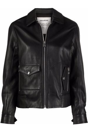 Zadig & Voltaire Lazy Cuir leather jacket