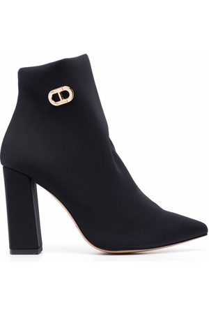 DEE OCLEPPO Salerno logo-buckle ankle boots