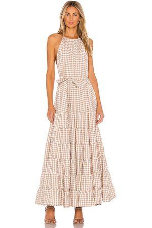 sundress Damen Lange Kleider - Neptune Maxi Dress in - Brown. Size L (also in XS).