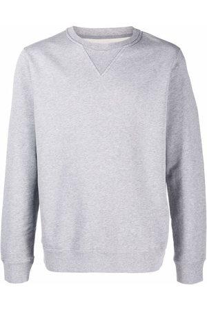Maison Margiela Round-neck long-sleeve sweatshirt