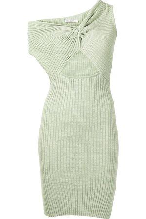 Anna Quan Damen Asymmetrische Kleider - Zali asymmetric knitted dress