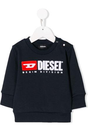 Diesel Shirts - Logo print sweatshirt