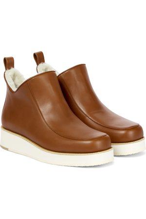 GABRIELA HEARST Ankle Boots Harry aus Leder