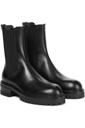 ANN DEMEULEMEESTER Damen Stiefeletten - Chelsea Boots Wally aus Leder