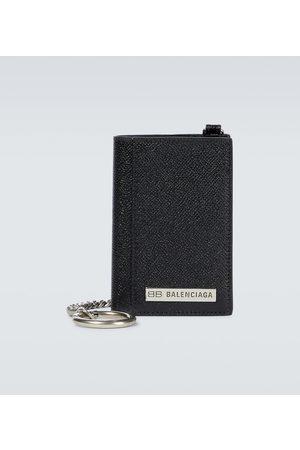 Balenciaga Portemonnaie Plate aus Leder