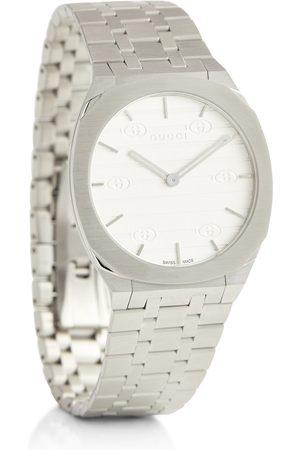 Gucci Uhr 25H aus Edelstahl