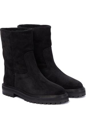 Jimmy Choo Damen Stiefeletten - Ankle Boots Yari aus Veloursleder