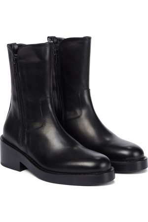 ANN DEMEULEMEESTER Ankle Boots Maddy aus Leder