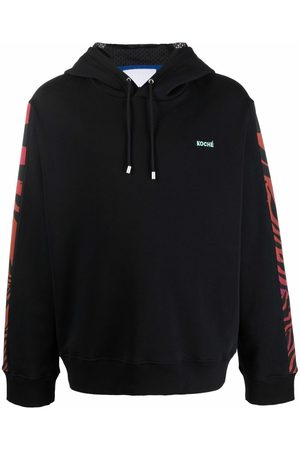 KOCHÉ Sweatshirts - Embroidered-logo hoodie