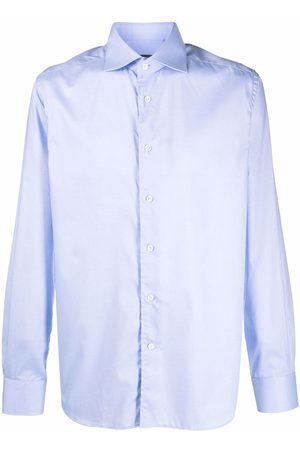corneliani Cotton long-sleeve shirt