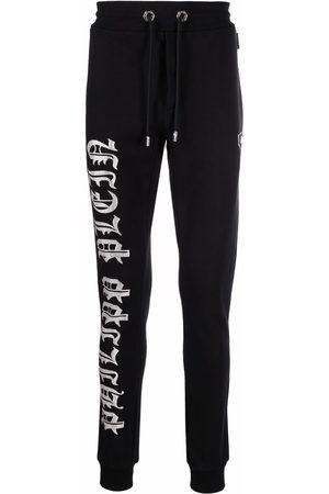 Philipp Plein Logo-print jogging trousers